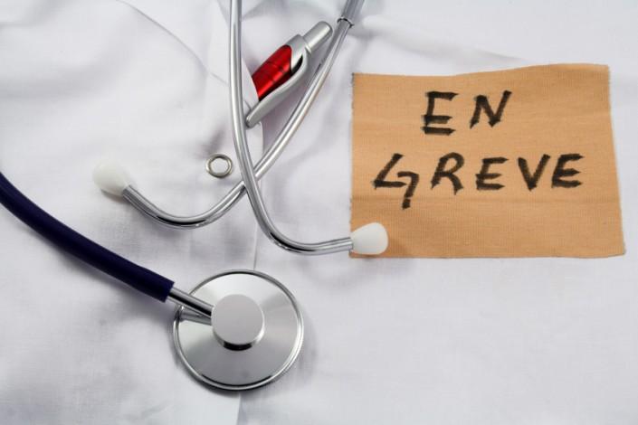 grève des médecins hospitaliers