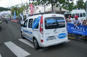 Voiture Miltis - Tour Cycliste Martinique