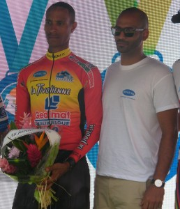 Coureur cycliste Miltis