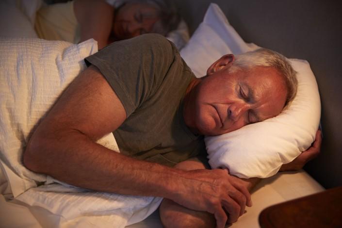 Troubles sommeil seniors