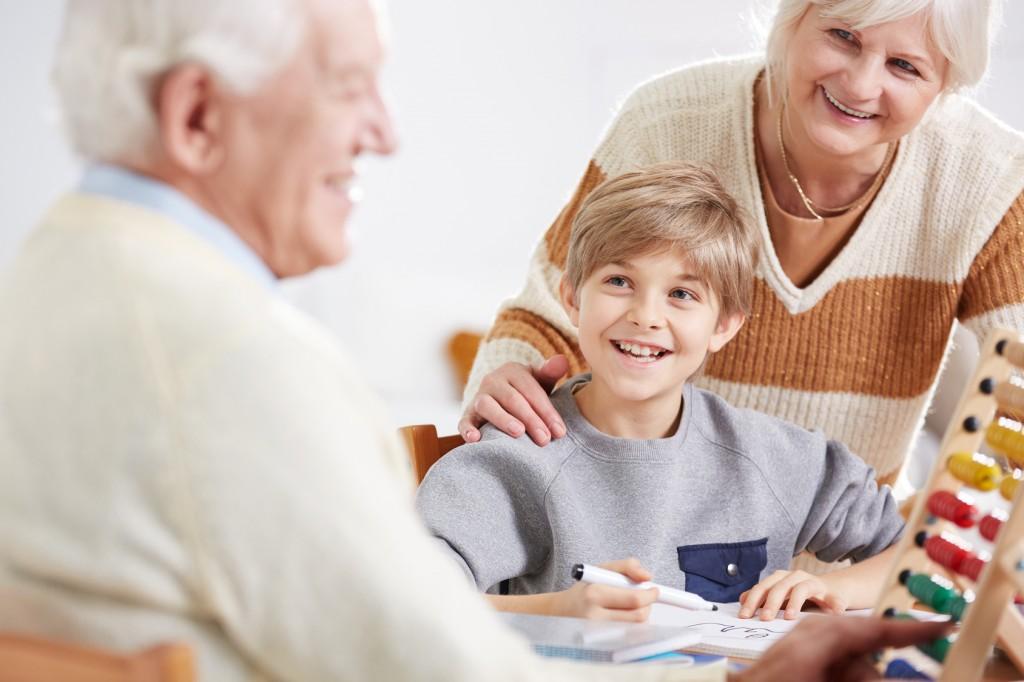 Relation grands parents et petits enfants