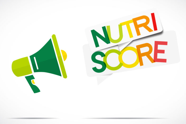 Nutri score aliments