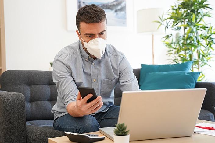 Covidom application e-santé pour suivre les personnes atteintes du coronavirus covid 19 à domicile Milits