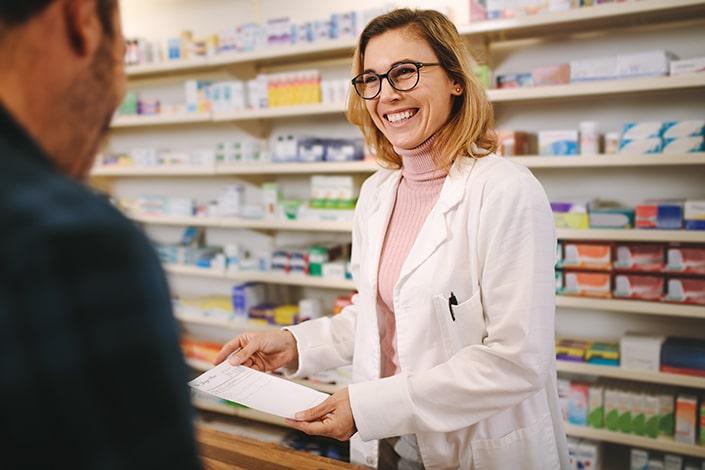 Le pharmacien application et site internet pour les pharmacies MILTIS