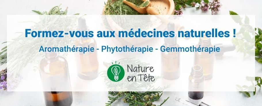Formation médecines douces Nature en Tête MILTIS